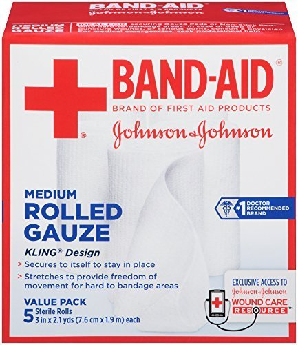 band-aid-first-aid-covers-kling-medium-rolled-gauze-5-count-by-band-aid