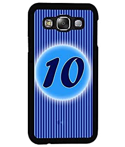 Fuson 2D Printed Numerology Designer back case cover for Samsung Galaxy E5 - D4228