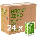 Notverpflegung 24x NRG-5 ZERO Glutenfrei Survival 500g Notration Notvorsorge | 24x9 Riegel im Vorteilskarton Survivalnahrung Expeditions Grundausstattung wie EPA