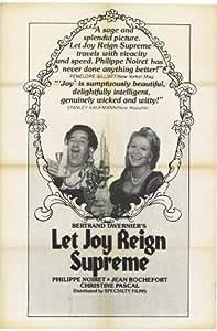Let Joy Reign Supreme Affiche du film Poster Movie Laisser règne de joie suprême (27 x 40 In - 69cm x 102cm) Style A