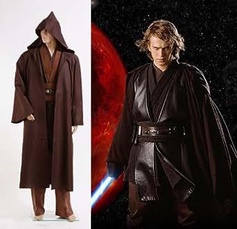 Star Wars Anakin Skywalker Cosplay costume Déguisement - Brun - *Sur Mesure*