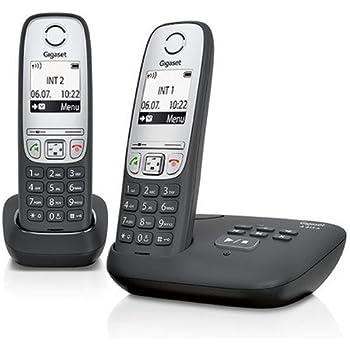 Gigaset A415A DUO Téléphones Sans fil Répondeur Ecran