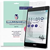 Asus ZenPad Z8 Screen Protector [2-Pack], iLLumiShield - Anti-Glare (Matte) HD Clear Film / Anti-Bubble & Anti-Fingerprint / Japanese Invisible Shield +