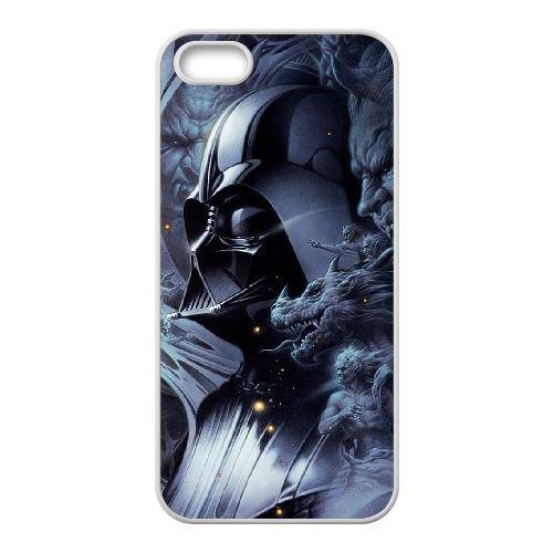 Darksiders coque iPhone 5 5S Housse Blanc téléphone portable couverture de cas coque EBDXJKNBO14755