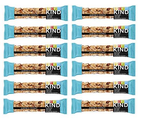 Be-Kind Riegel Almond & Coconut - 12er Packung, hochwertige Nussriegel Multipack aus den USA