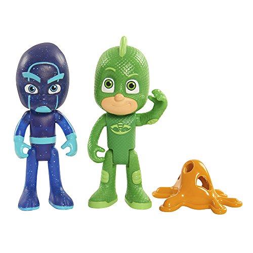 PJ Masks Gekko & Night Ninja Action Figure 2-Pack