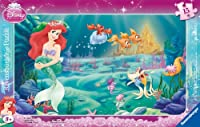 Ravensburger 06031 Framed Jigsaw Puzzle - 15 Pieces - Ariel's World