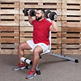 Pro-Sport Hantelbank von Profihantel | Hochwertige Qualität | Inkl. großem XXL-Übungsposter mit 30 Übungen - 5