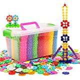 Best Building Toys - LA HAUTE Kids Building Blocks 500 Piece Plastics Review