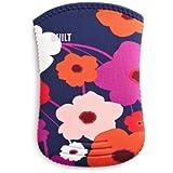 BUILT - Funda/calcetín de neopreno para Kindle, diseño floral (sirve para Kindle Paperwhite, Kindle y Kindle Touch)