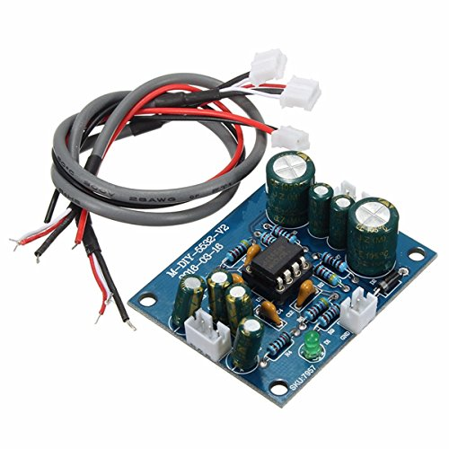 Bluelover Scheda Amplificatore Ne5532 Op Amp Hifi Preamplificatore Per Pre-Amp Bluetooth