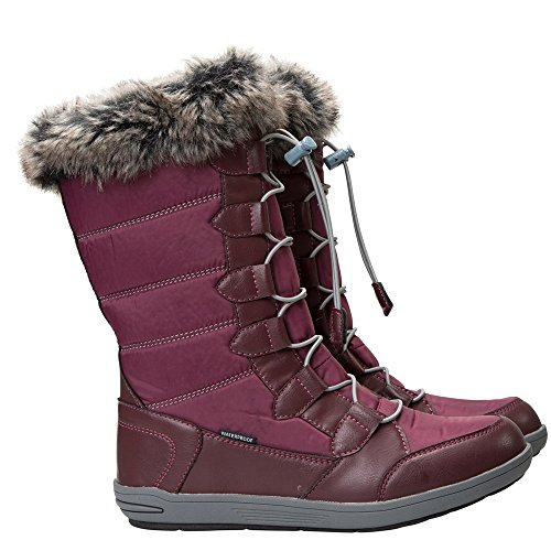 Mountain Warehouse Firbank Damen-Snowboots Burgundrot 38