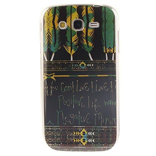 HUANGTAOLI Custodia in Silicone TPU Case Cover per Samsung I9060i Galaxy Grand Neo Plus(i9060i/i9060/i9062)
