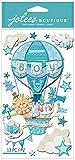 Jolees Boutique dreidimensionale Aufkleber, Baby Boy Special Delivery