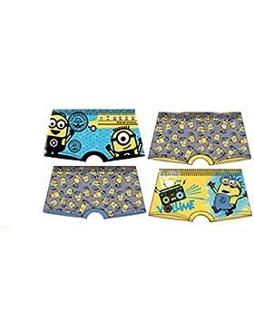Pack de 4 boxers multicolor (3 m