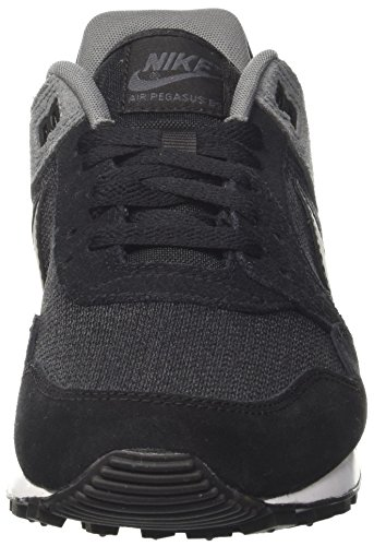 Nike Herren Air Pegasus '89 Sneaker Grau (Black/black-anthracite-cool Grey-pure Platinum)