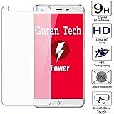 Guran® Protector de Pantalla Vidrio Cristal Templado Para Ulefone Power Smartphone Film
