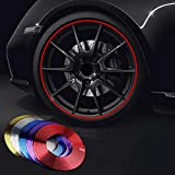 Pinalloy PVC Gemaakt Auto Wiel Trim Ring Shell Ring voor 13-22 inch Wielen Rand Rood