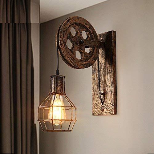 YWJWJ Moderne Wandleuchte Moderne Lounge, minimalistisch, Wohnzimmer mit Bettrückwand an der Riemenscheibe des Hotels, 25 * 50 cm