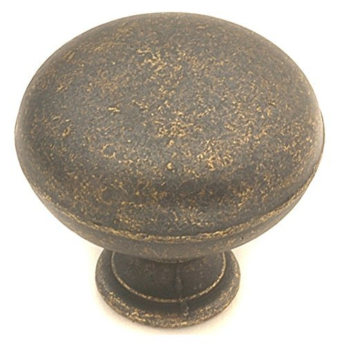 Hickory Hardware PA1218-WOA 1-1/4-Inch Oxford Antique Knob, Windover Antique by Hickory Hardware -