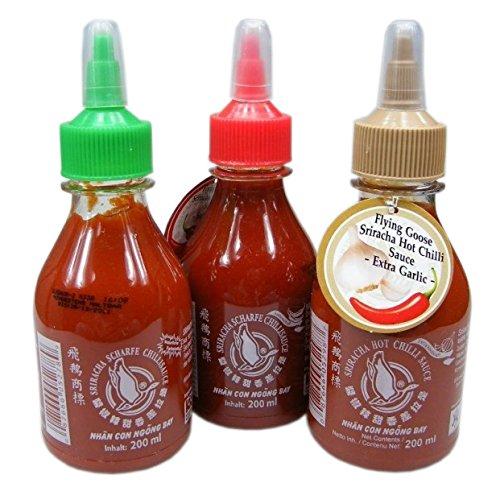Spar Set - Sriracha Chilisauce Set - Vorteilspaket von asiafoodland