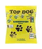 Top Dog Heimtiernahrung Rinderpansen - Pansen - tripe - getrocknet - 500g DLG Qualitätssiegel - jährlich getestet NEU