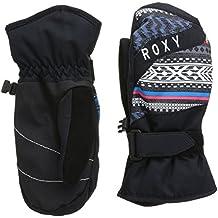 Roxy Handschuhe Mouna Girl M - Guantes de esquí para niña, color gris, talla S