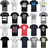 JACK & JONES T Shirt Herren 3er 6er 9er Mix Rundhals Tee Regular fit Baumwolle S M L XL (M, 6er Mix Pack)