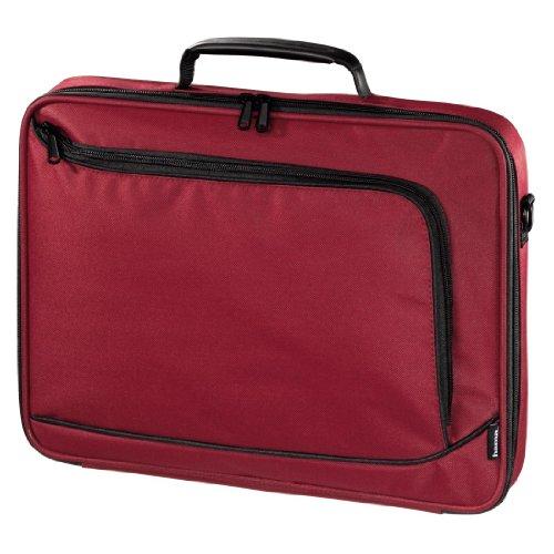 Hama Notebook-Tasche Sportsline Bordeaux (Tasche für Laptop / Notebook, Notebooktasche geeignet für Computer bis 15,6 Zoll / 40 cm Bildschirmdiagonale, Laptoptasche) rot (Laptop-tasche Rote)