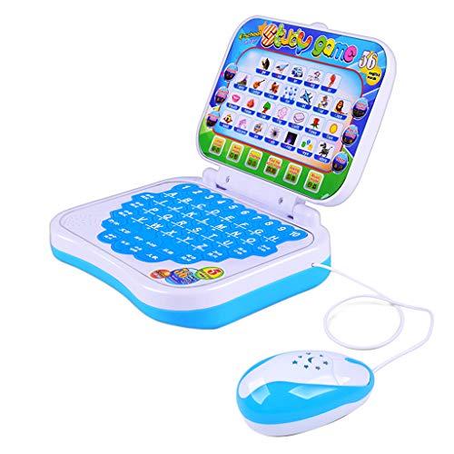 Homyl Lerncomputer Lernlaptop Lernspielzeug für Kinder ab 3 Jahre Alt, aus Plastik