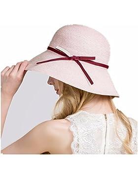 Señora todos-match sombreros de verano moda ocio viajes playa Marea del ultravioleta pescador de ala ancha sunscreen...
