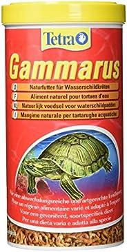 Tetra Gammarus naturligt foder av hög kvalitet för vattensköldpaddor från hela bägaren, 1 liter burk