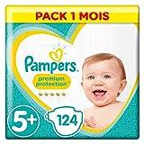 Pampers Pañales para Bebés, Protección Superior, talla 5+