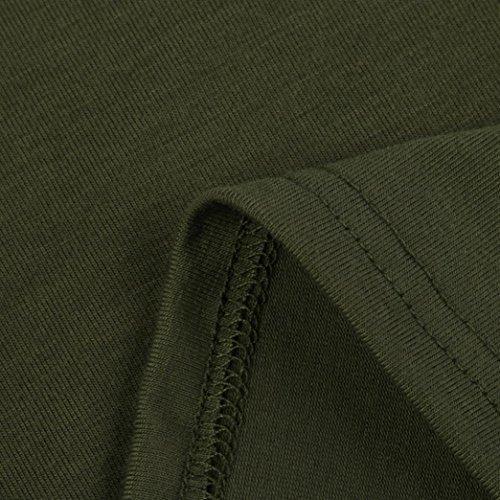 99native Maglia a manica lunga - Donna Army Green