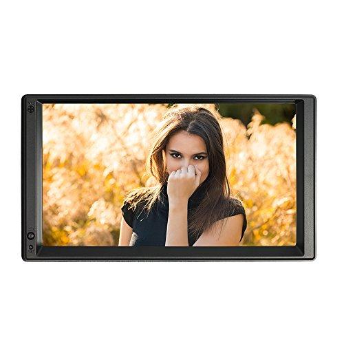 "KKmoon 7\"" Reproductor Multimedia HD 2 Din Autoradio, Android 5.1, Pantalla Táctil, GPS Navegación, Radio Player Entretenimiento con BT WIFI AM/FM para Coche Universal"