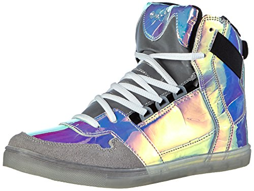 Nat-2 Unisex-Erwachsene Cube 4 High-Top Mehrfarbig (snake iridescent glow in the dark)