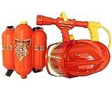 allkindathings bt724123Kinder Pumpe Action Feuerwehr Gun Pistole Wasser Tank Set Fun Blaster Spielzeug