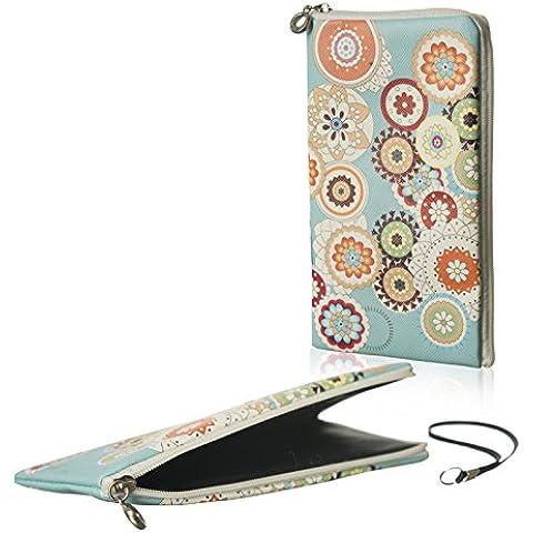 Gütersloher Shopkeeper - Funda blanda con cremallera, delgada, compatible con Apple Iphone 6s Plus, color turquesa con