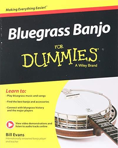 Bluegrass Banjo FD (For Dummies)