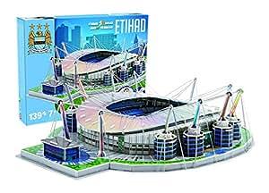 Giochi Preziosi 70037451 – 3D Stadion-Puzzle Etihad Manchester City