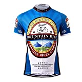 Thriller Rider Sports® Homme Sports et Loisirs Maillot de Cyclisme Manches Courtes 3X-Large