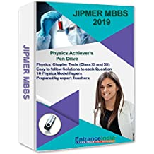 EntranceIndia JIPMER MBBS 2019 Achievers Physics with Physics Model Papers (Pen Drive)