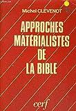 Approches matérialistes de la Bible