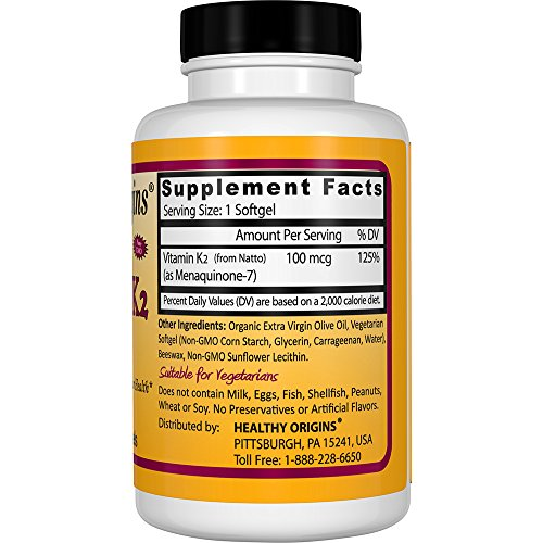 Zoom IMG-2 vitamina healthy origins vitamin k