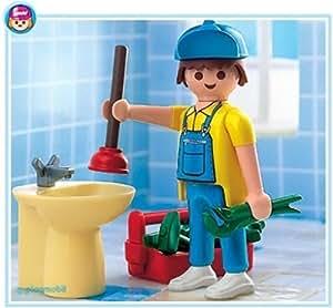 Playmobil - 4655 - Les commerçants - Plombier