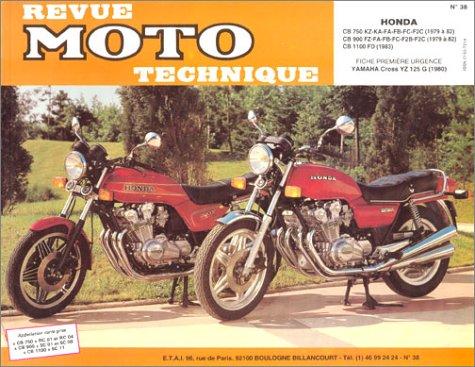 Revu Moto Technique, numéro 38 – YAMAHA : XS 500 – HONDA : CX 400 – 400C – 400E – 500-500C – 500E – GL500D – CX 650 E – GL 650 D2, fiche première urgence YAMAHA XJ 650 Type 4K0.