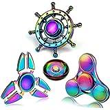 Rainow Snitch Fidget Hand Spinner UFO Finger Spinners for Kids & Adults - Cool Magic Finger Toys Fidgets Cube Blocks Sensory