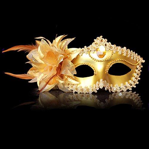 (LUFA Venezianische Maske Sexy Spitze Maskerade Party Masken Halloween Karneval Party Maske)