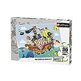 Nathan - 86349 - Puzzle Les Petits Pirates 30 pièces