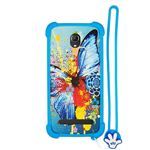 Hülle für Switel Esmart E2 hülle Silikon Grenze + PC hart backplane Schutzhülle Case Cover HD